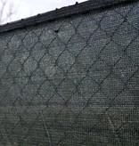 fensonet FENSONET 180gr ZWART H:150cm per m