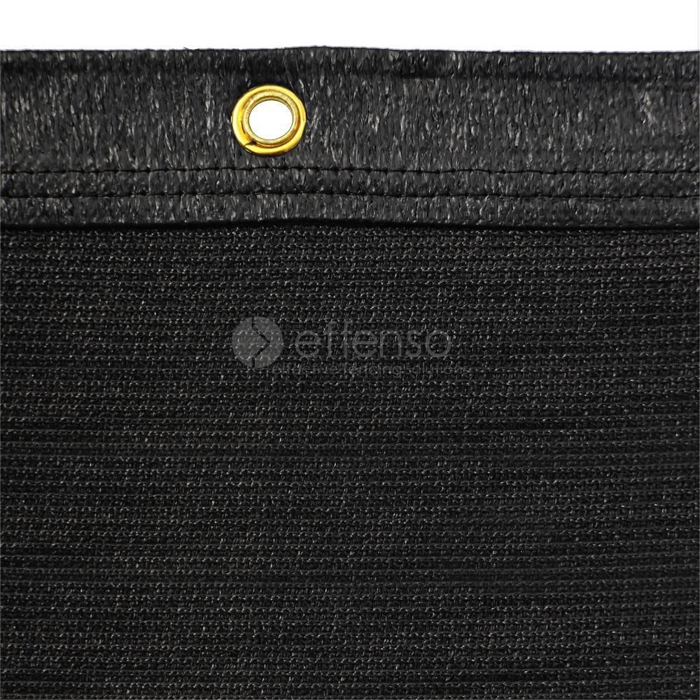 fensonet FENSONET 270gr ZWART H:200cm L:25m ring