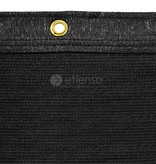 fensonet FENSONET 270gr BLACK H:120cm rings per m