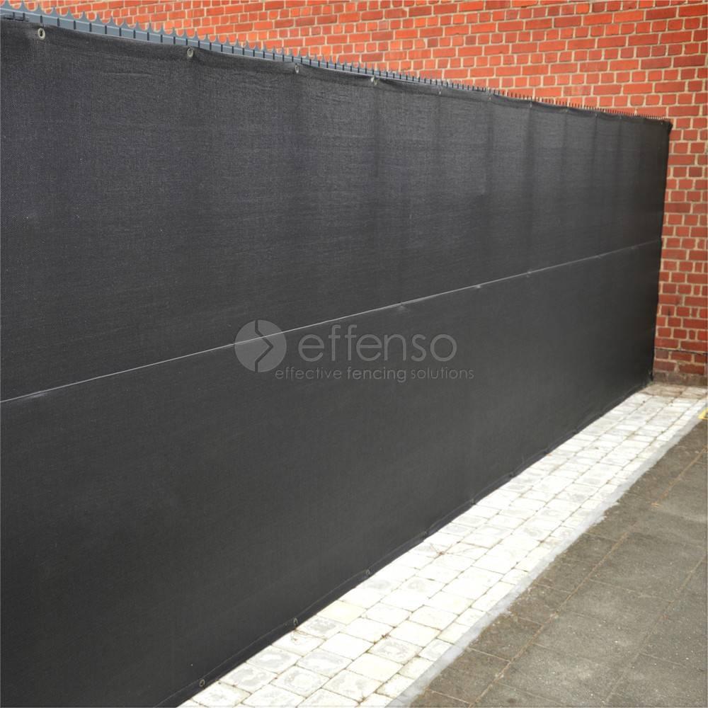 fensonet FENSONET 300gr ANTHRACITE H:150cm 25m Ösen