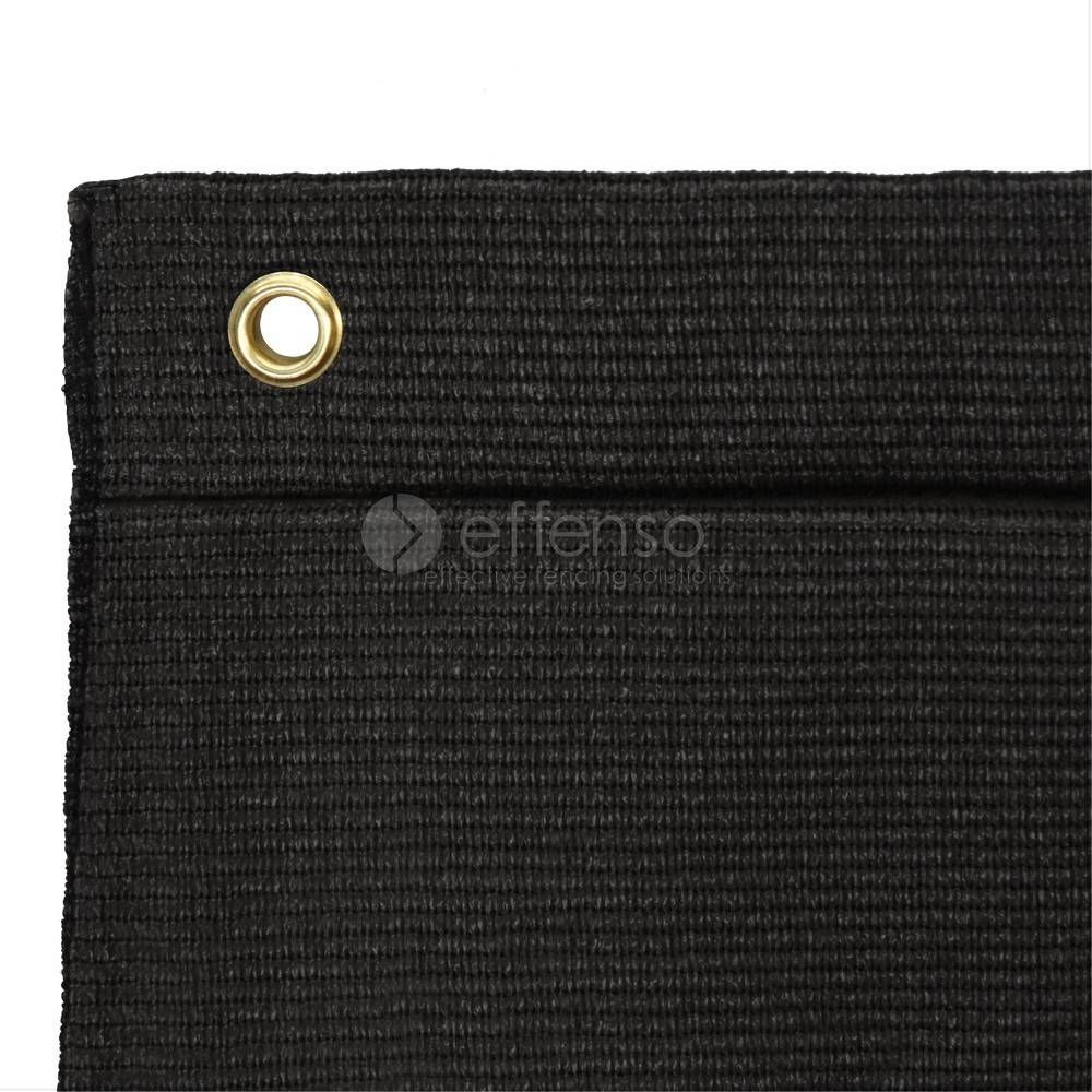 fensonet FENSONET 300gr BLACK 250cm rings per m
