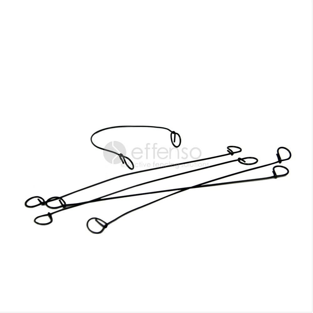 Binding Wire twister 1 x 120 mm per 100  Verzinkt