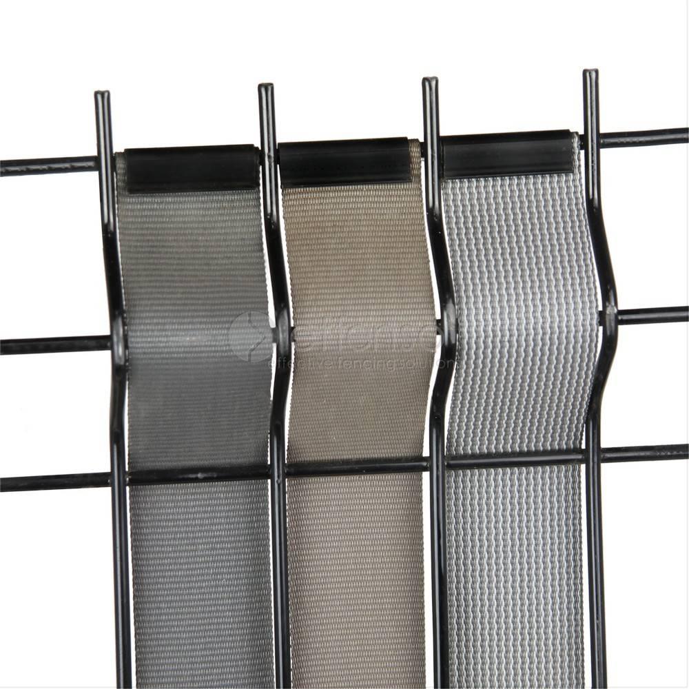 fensonet Fensonet Weave Textilene 44mm Flint Grau