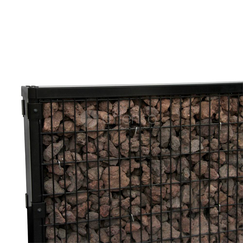 fensofill FENSOFILL Paneel  L:2m H:156 cm RAL9005