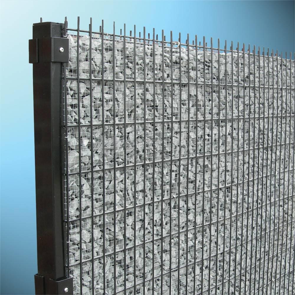 fensofill FENSOFILL Panel  L:2m  H:206cm  RAL9006