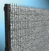 fensofill FENSOFILL Panel  L:2m  H:63cm  galvanized after