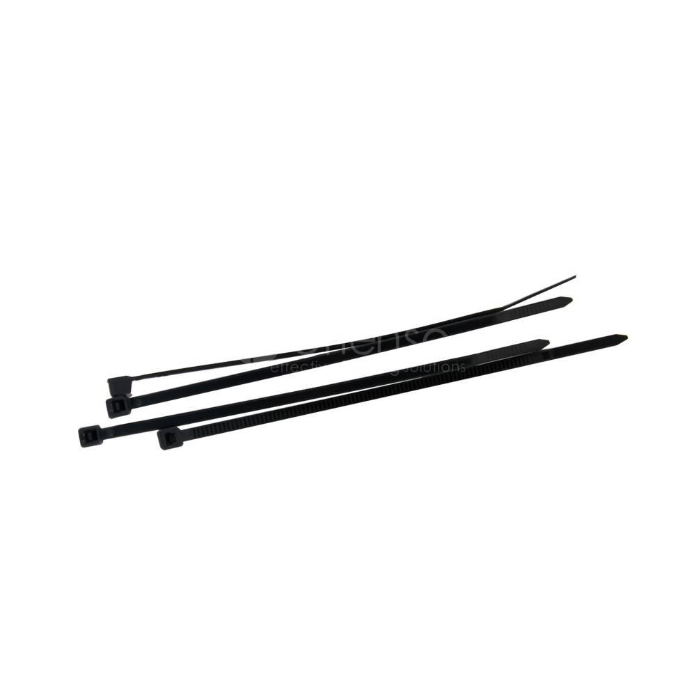 Bandas de Sujeción occultación  ANTRACITA L: 100 mm 100st