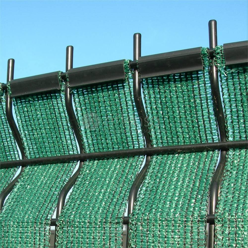 fensonet clips FENSONET WEAVE 50 50st Green