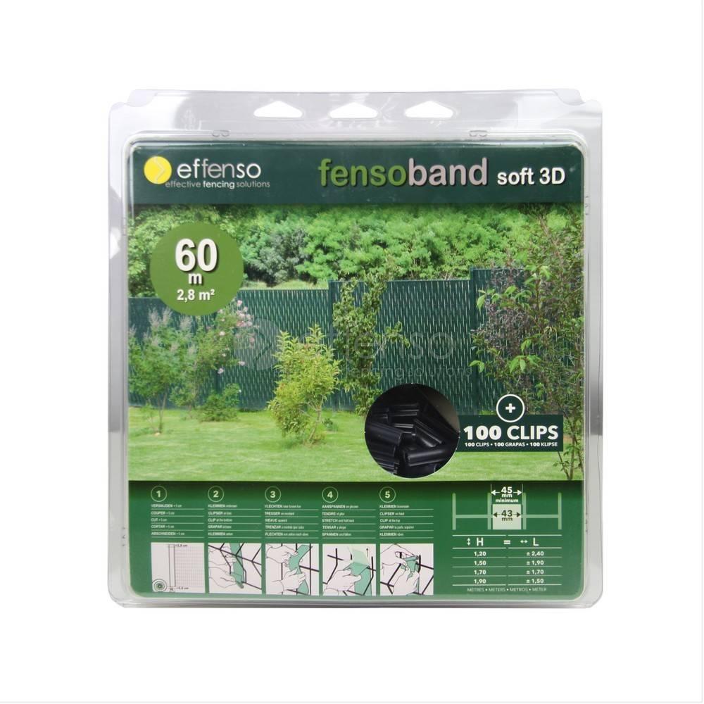 fensoband soft Fensoband SOFT 3D 43 mm 60m RAL 7016