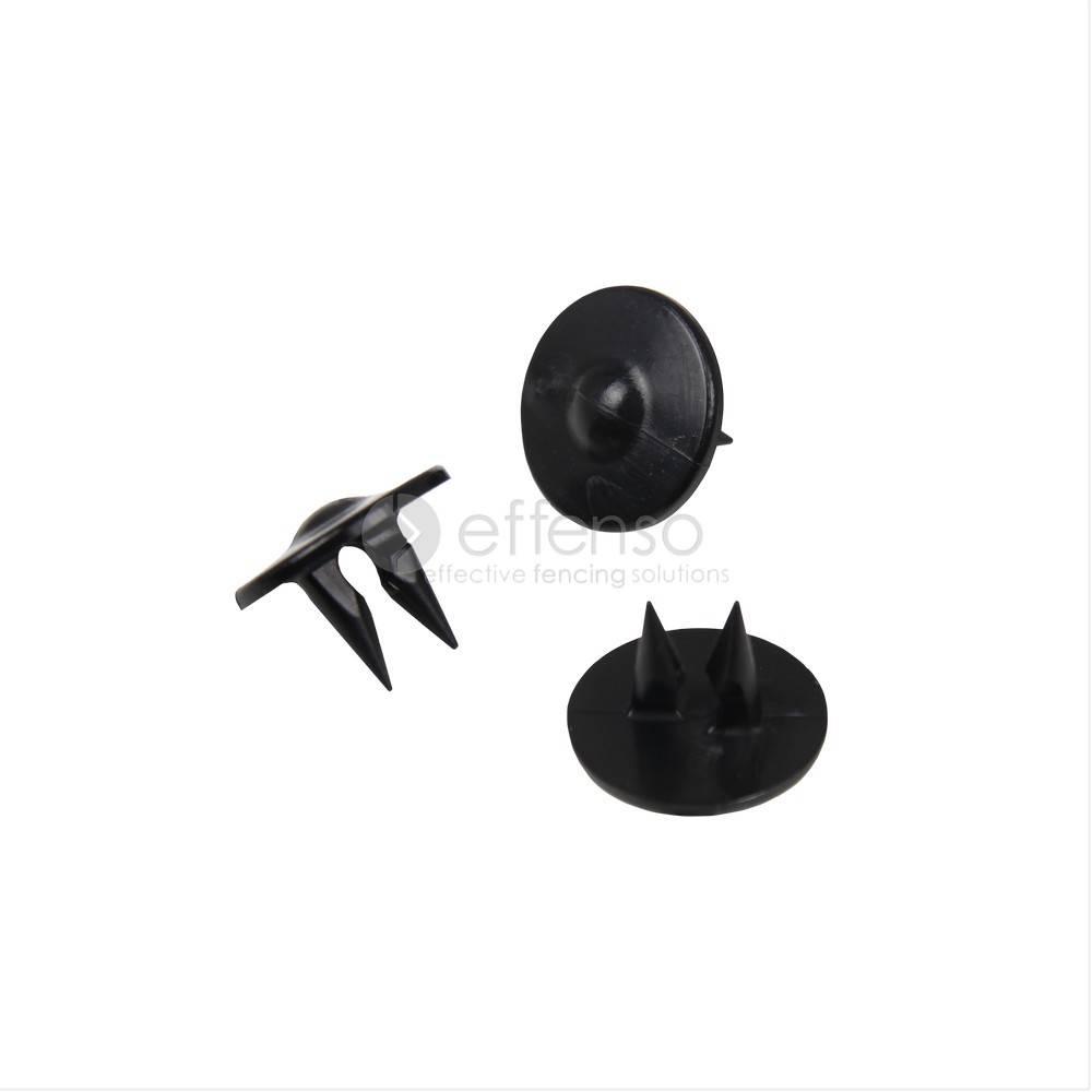 Fensonet GRIPCLIPS voor 2D/3D paneel zwart 50 st