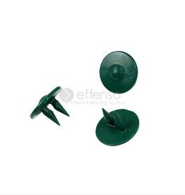 Fensonet GRIPCLIPS para 2D/3D panel verde 50 pzs