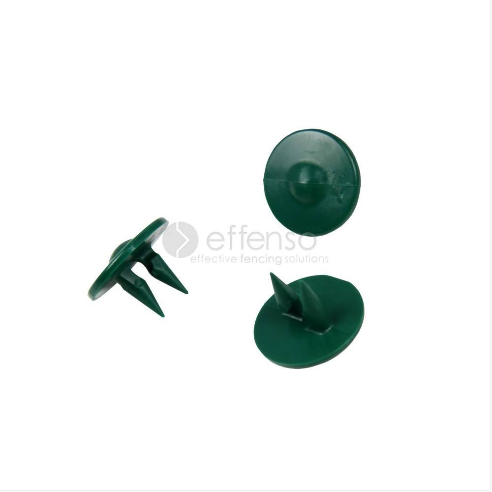 Fensonet GRIPCLIPS for 2D/3D panel green 50 pcs