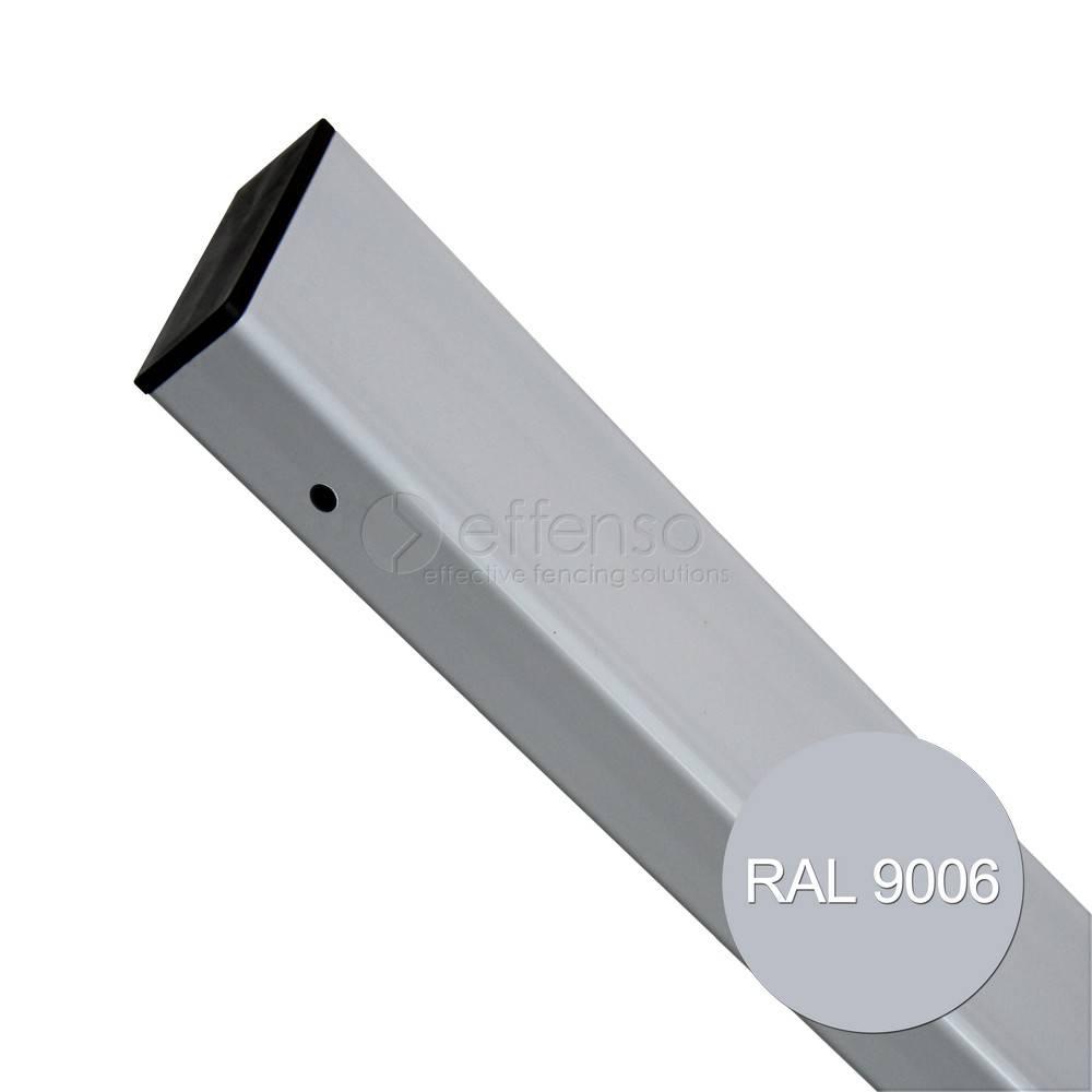 fensofill EASYFIX Pfosten  H:280cm RAL 9006