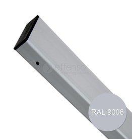 fensofill EASYFIX Pfosten  H:210cm RAL 9006