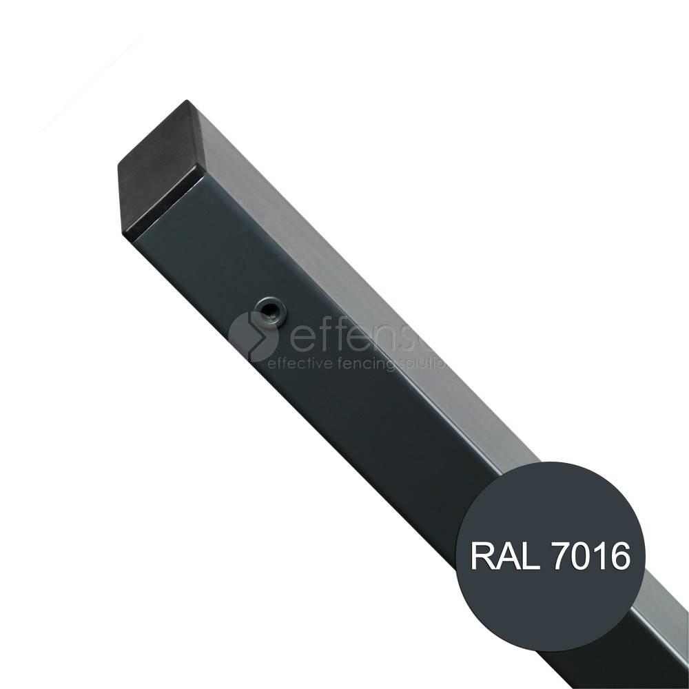 fensofill FENSOFIX Pfoste H:250cm RAL7016