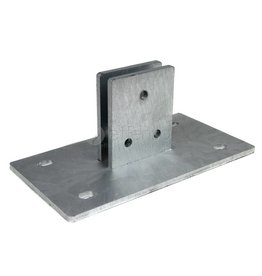 fensofill Footplate for post FENSOFILL 120 x 40