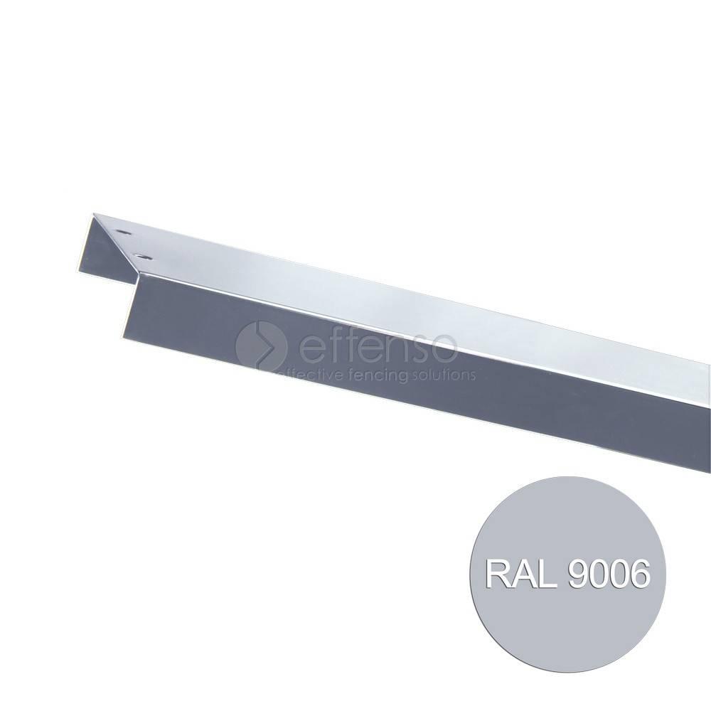 fensofill FENSOFILL Topcover 12 x 204 Silbergrau 9006