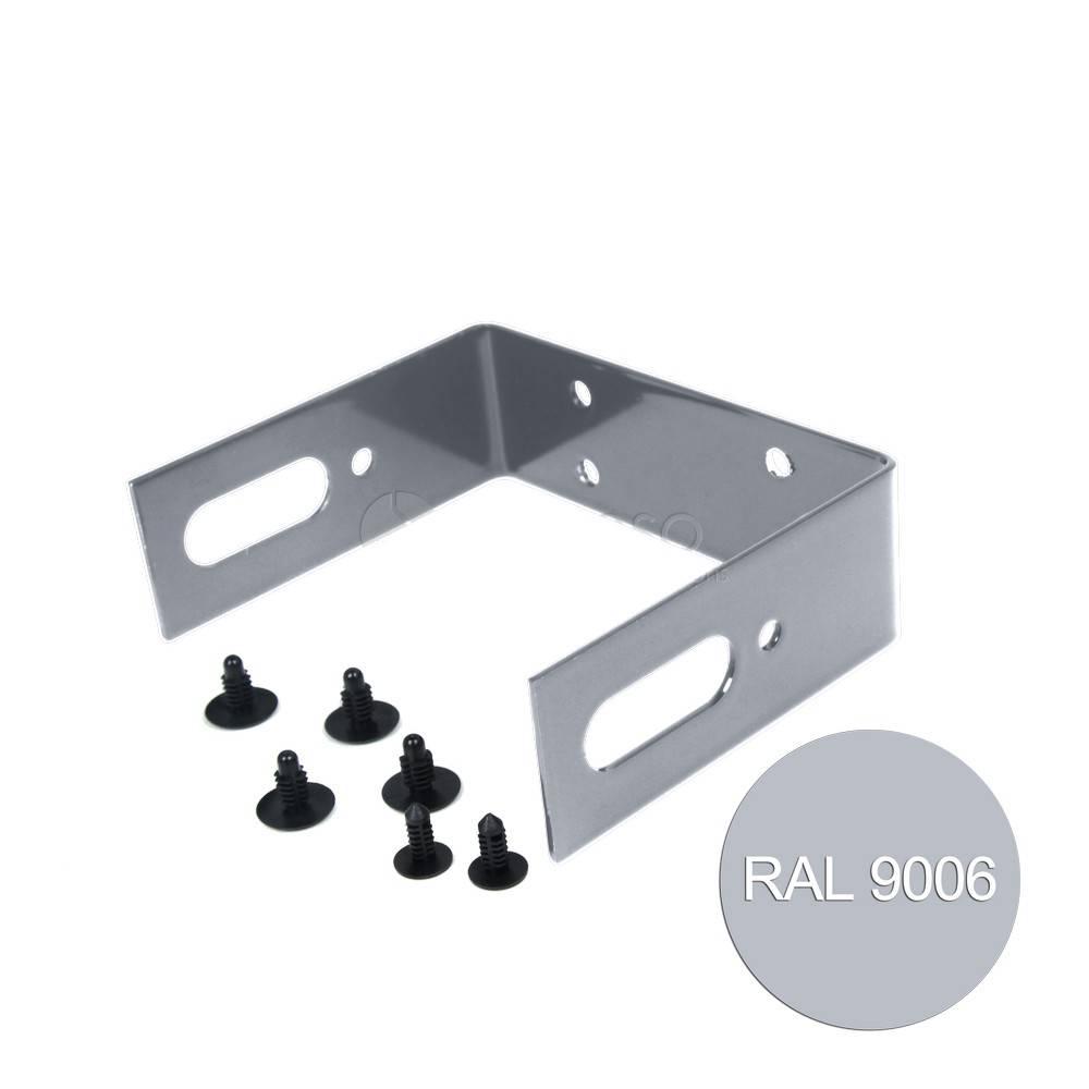 fensofill FENSOFILL Bügel Topcover Silbergrau 9006