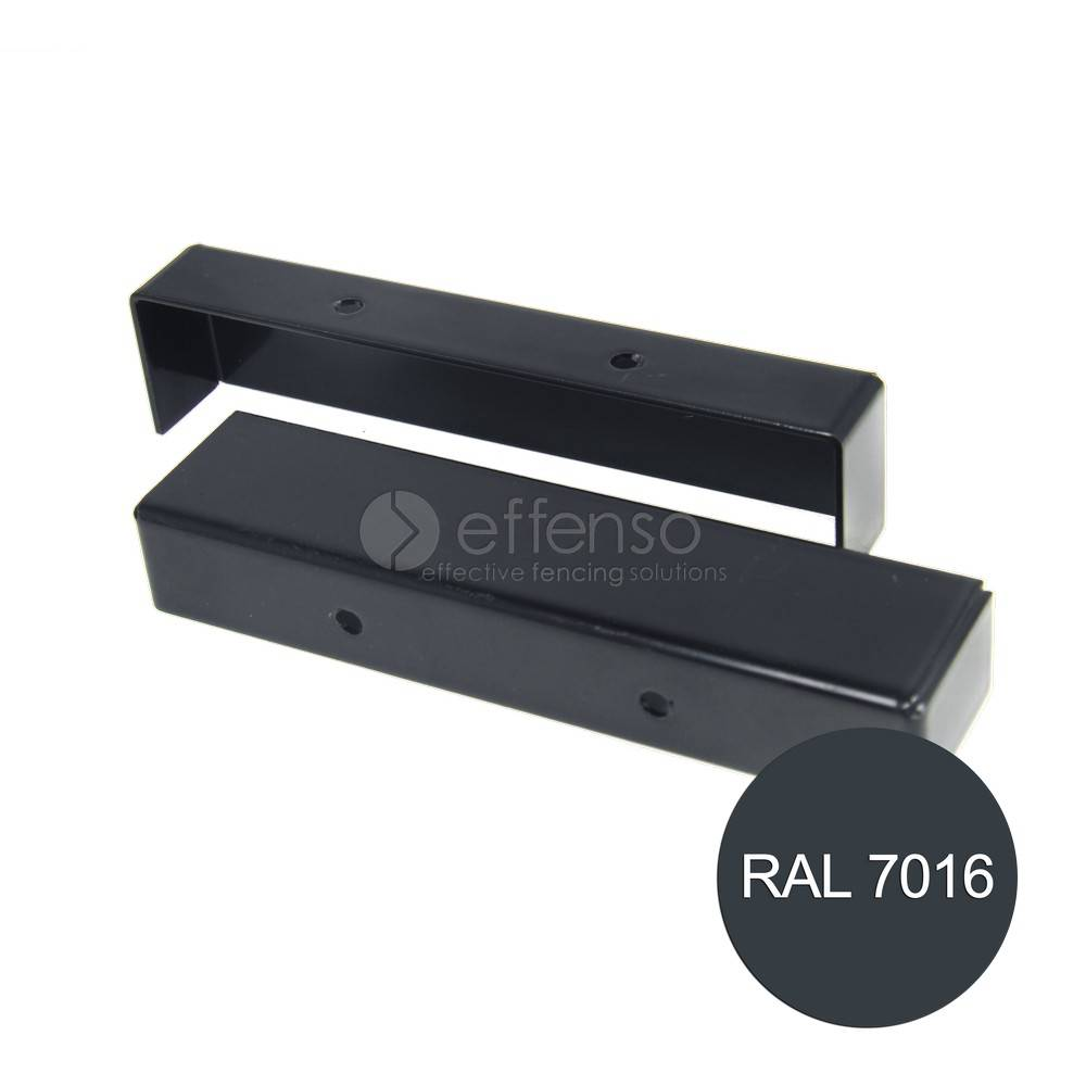 fensofill FENSOFILL Endpiece Topcover 2pcs Anthracite 7016