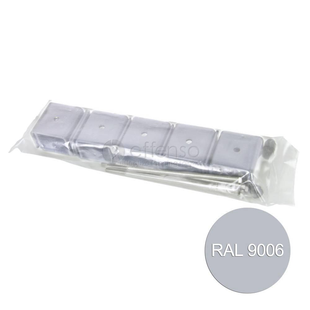fensofill EASYFIX brackets post 120x40 Silvergrey 9006 5pc