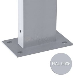 fensofill EASYFIX Poste platina  H:185cm  RAL9006