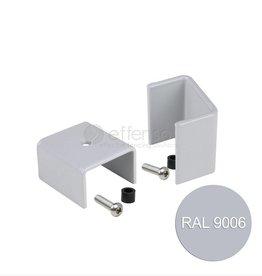 fensofill FENSOFIX Colliers poteau 120x40 RAL9006 10 pcs