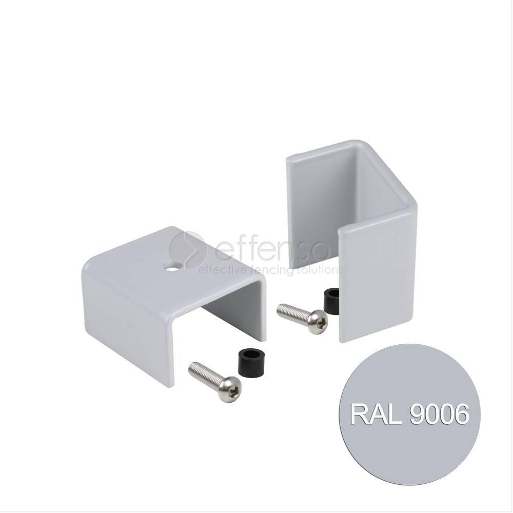 fensofill FENSOFIX beugels paal 120x40 RAL9006 10 st