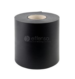 fensoband soft FENSOBAND H:190 mm L:35m BLACK 9005 'Orange skin'