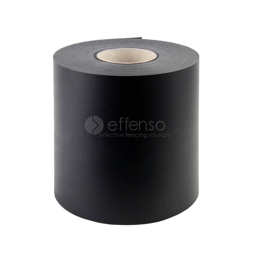 fensoband soft FENSOBAND H:190 mm L:35m ZWART 9005 'Orange skin'