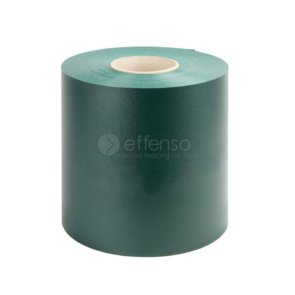 fensoband soft FENSOBAND H:190 mm L:35m DONKERGROEN  'Orange skin'