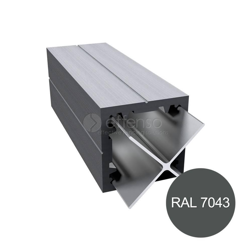 Duo Fuse Paal 90mm L:270cm graphite black