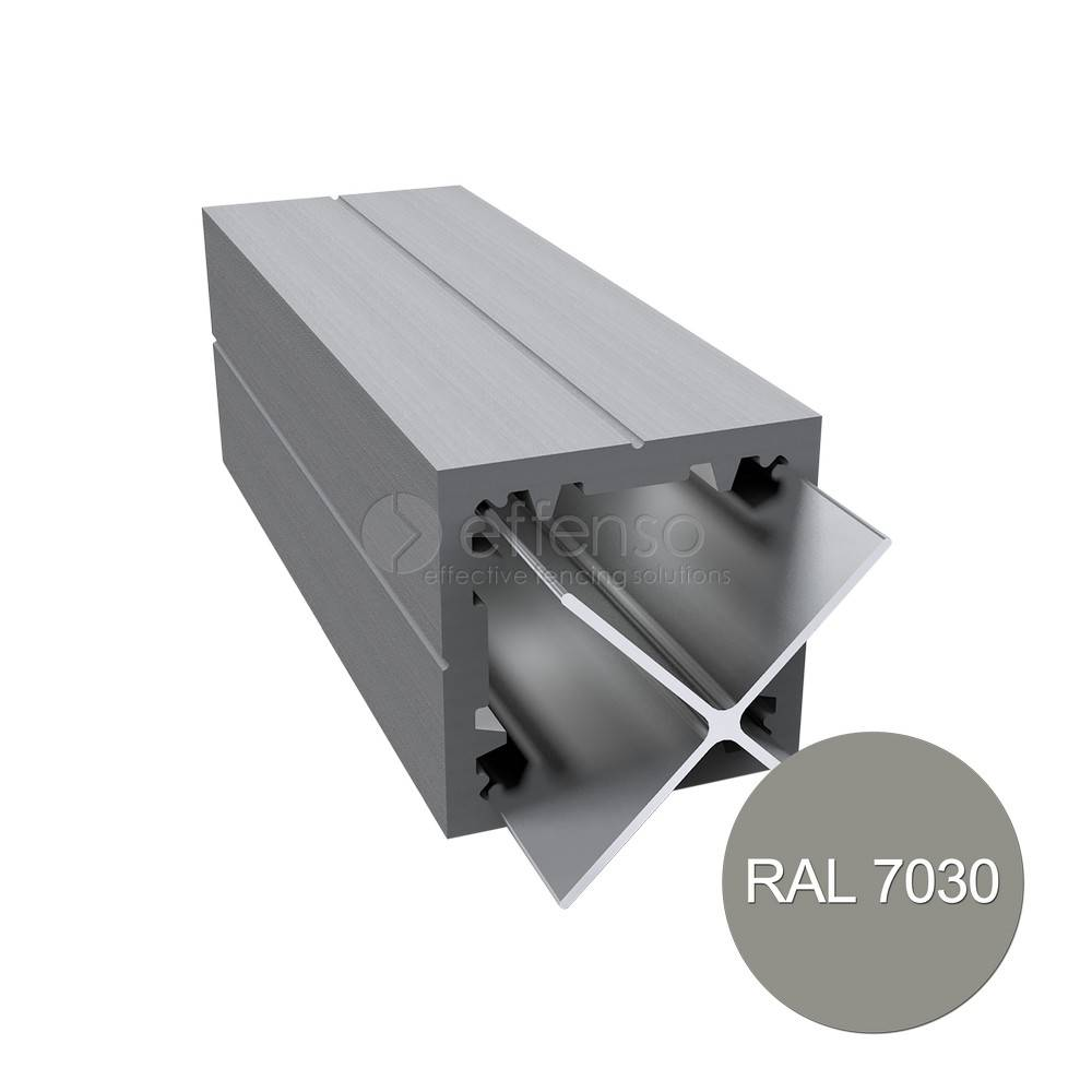 Duo Fuse Paal 90mm L:270cm stone grey