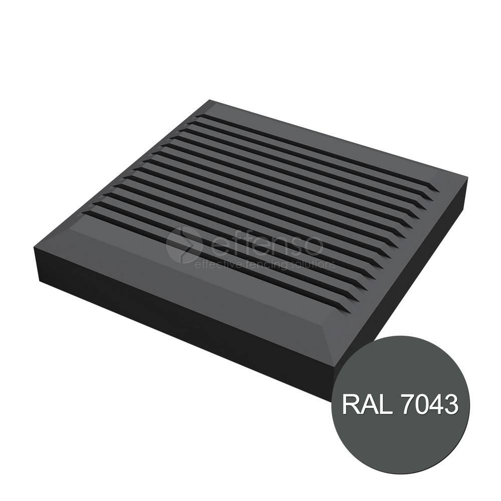 Duo Fuse Afdekkap Classic 110mm graphite black