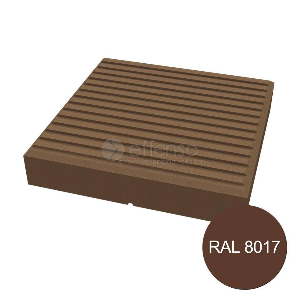 Duo Fuse Afdekkap Design 90mm tropical brown