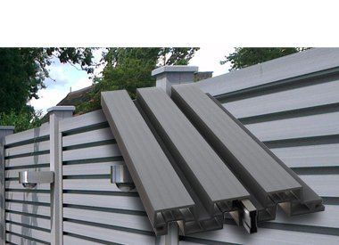 Duo Fuse composite slat wall system