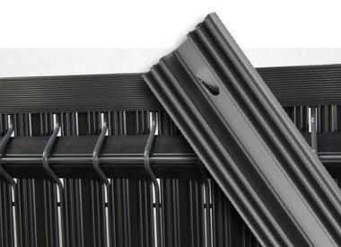 Láminas rigidas en PVC para verjas 3D