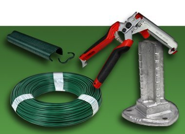 Accessories for fence erectors