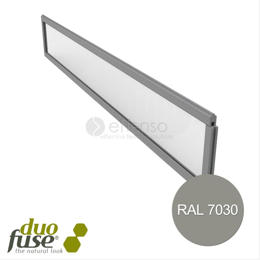 Duo Fuse Kit Deco Transparant stone grey