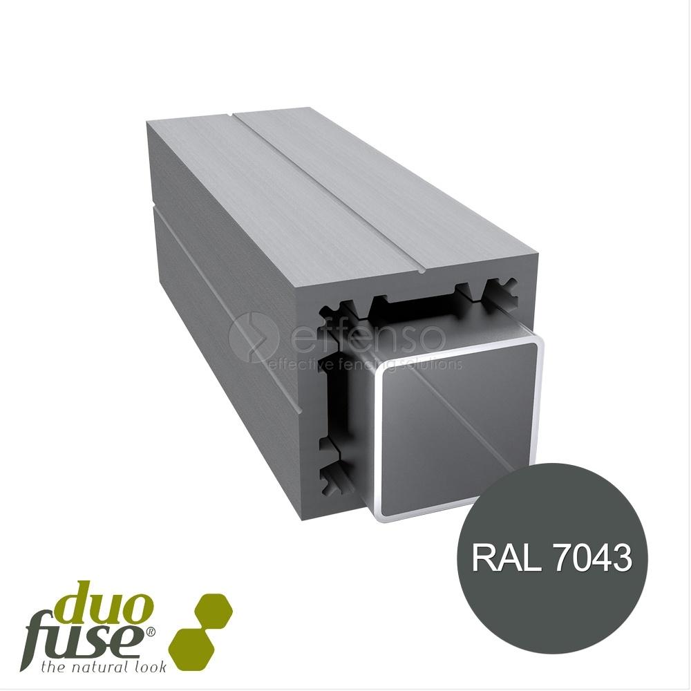 Duo Fuse Poortpaal L:270cm graphite black