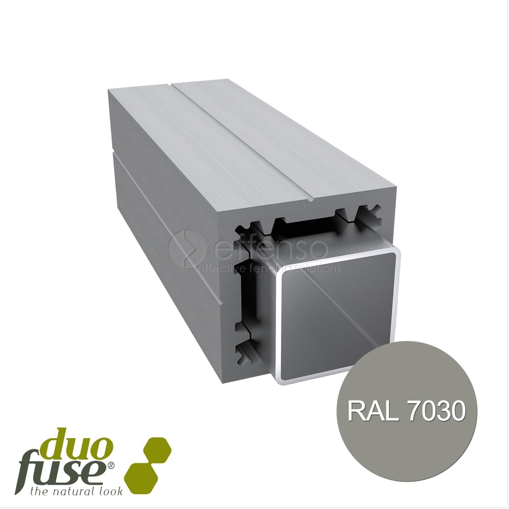 Duo Fuse Poortpaal L:300cm stone grey