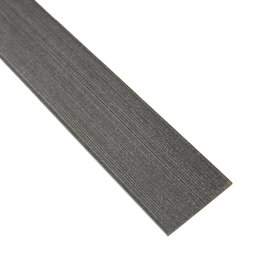 fensoplate composite Fensoplate Composite Lamelle 35mm H:123 cm Graphite Black