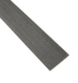 fensoplate composite Fensoplate Composite Lamel 43mm H:123 cm Graphite Black