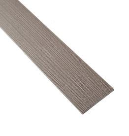 fensoplate composite Fensoplate Composite Lamel 43mm H:123 cm Wenge Brown