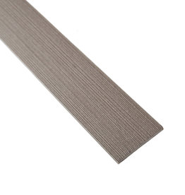 fensoplate composite Fensoplate Composite Lamel 43mm H:153 cm Wenge Brown