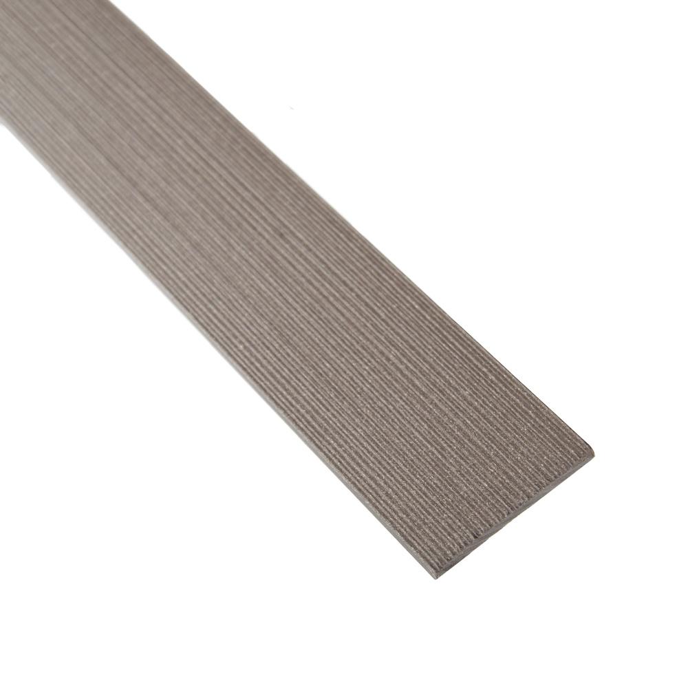 fensoplate composite Fensoplate Composite Lamelle 47 Wenge Brown 123 cm