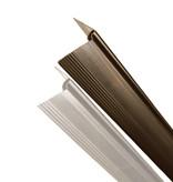 fensoplate composite Fensoplate Composite Kit 3D M:55 H:203 cm V-Large Wenge Brown