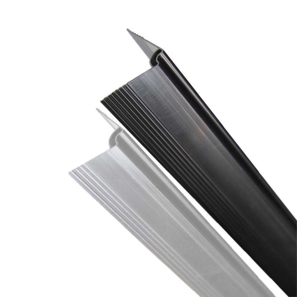 fensoplate composite Fensoplate Composite Kit 3D M:55 H:203 cm V-Large Graphite Black