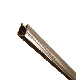 fensoplate composite Fensoplate Composite Bodemprofil 3D L:247cm  RAL 8017