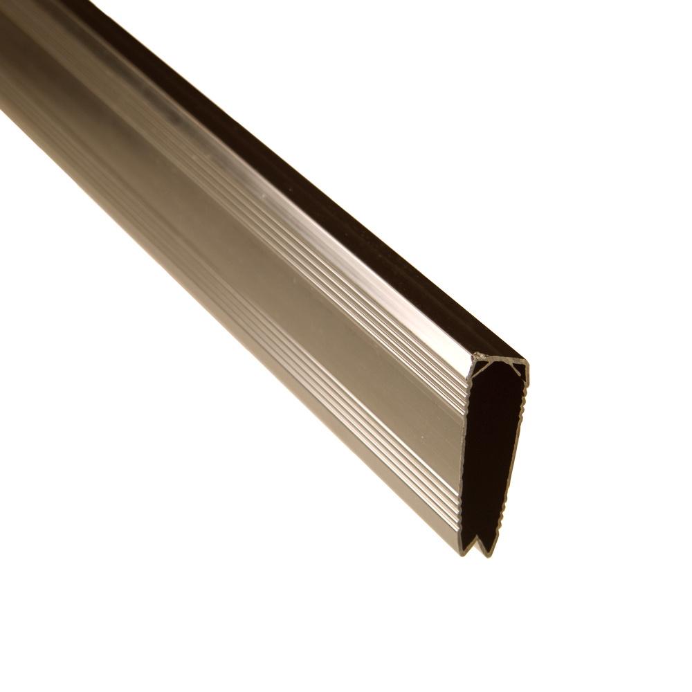 fensoplate composite Fensoplate Composite Profil de finition 3D L:247cm  RAL 8017