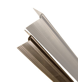 fensoplate composite Fensoplate Composite Perfil Plegue V-Small L:247cm  RAL 8017